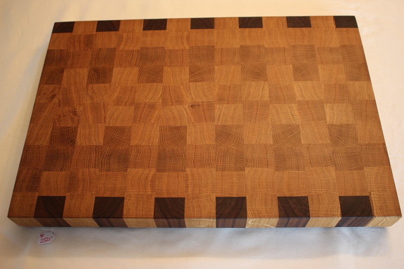 Stirnholz Premium Schneidebrett Vollholz Eiche Esche Nussbaum Endgrain Cuttingboard Oak Ash Walnut